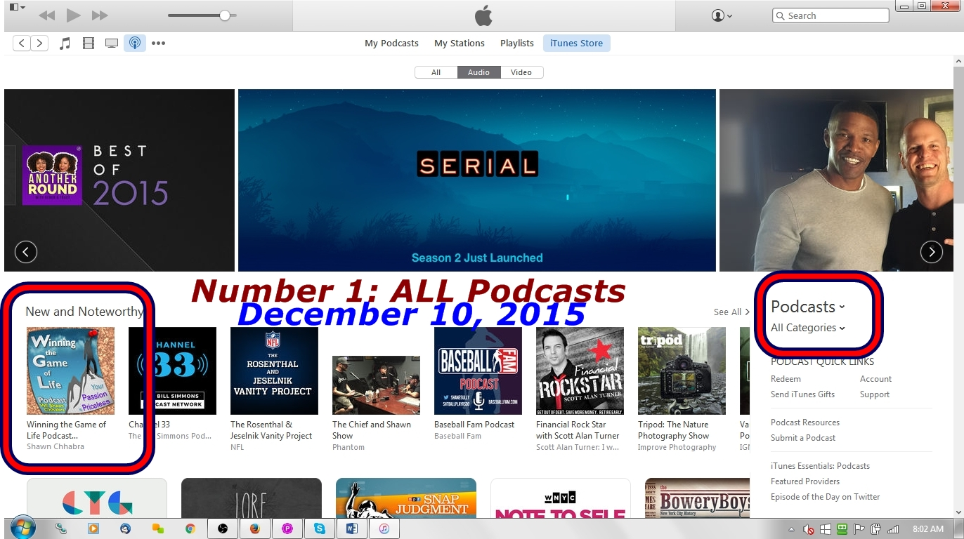 TOP1-ALL-PoDCASTS-Dec102015-Shawn-Sudershan-Chhabra