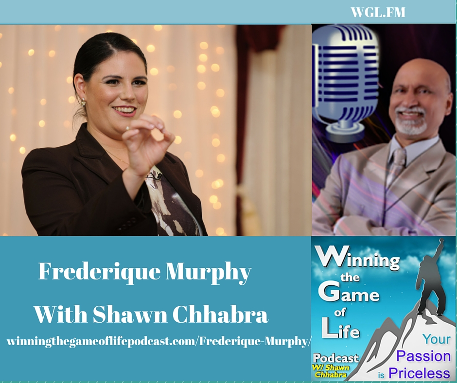 Frederique Murphy with Shawn Sudershan Chhabra